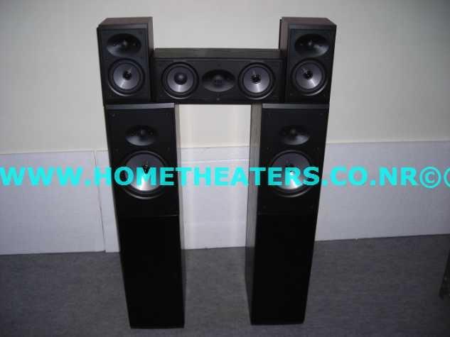 Rs 43600 Boston Acoustics CR97 CRC7 CR57 Premium 5 Speaker Package