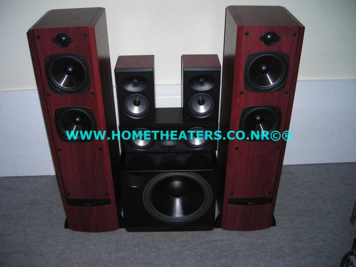 """Rs 72900 Boston Acoustics VR1 CRC7 CR57 with XB4 10"""" Subwoofer 5.1 Speakers"""