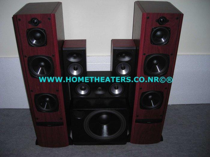 Rs 61100 Awarded Boston Acoustics VR2 CRC7 CR57 Premium 5 Speaker Package