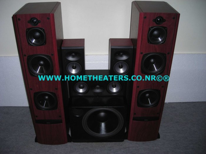"Rs 75100 Awarded Boston Acoustics VR2 CRC7 CR57 XB2 5.1 Speaker Package with 8"" Subwoofer"