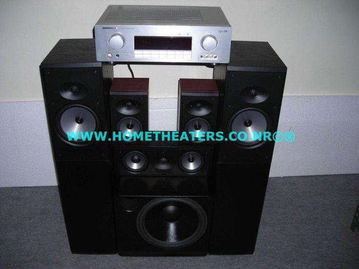 Rs 78600 Marantz SR301 AV Receiver Boston CR97 CRC 7 CR57 XB2 5.1 Home Theatre Systems