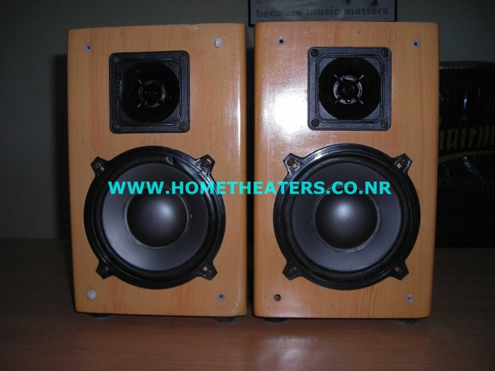 Rs 1000 Rave Acoustics Teak Bookshelf Speaker(Old Unsold Stock Clearance Sale)