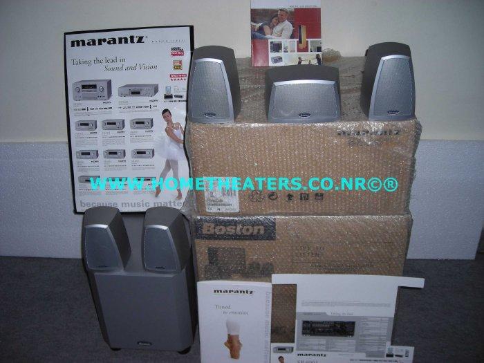 Rs 51750 Awarded Marantz SR4001 HDMI AV Receiver Boston Acoustics MS 4000S 5.1 Home Theatre Systems