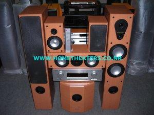 """Rs 68400 Marantz SR4001 7.1 AV Receiver Marantz LS6000 w/ 10"""" Subwoofer 5.1 Home Theatre Systems"""