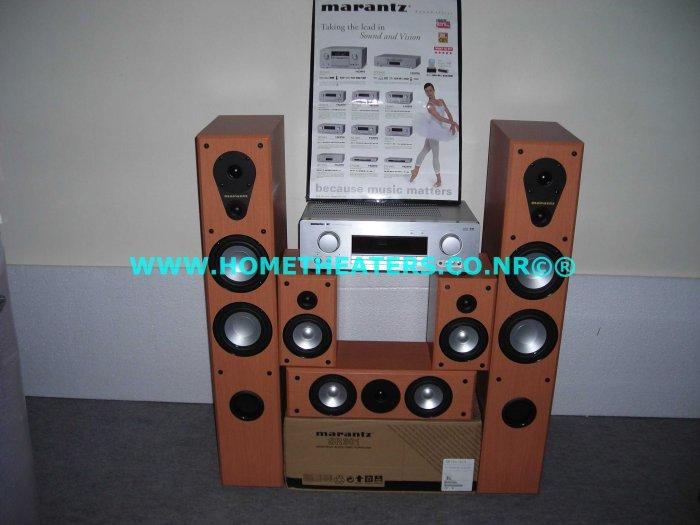 Rs 54060 Marantz SR3001 7.1 AV Receiver Marantz LS6000 5 Speaker System Home Theatre Systems