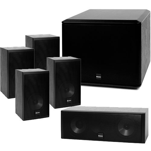 "Rs 44200 Boston Acoustics CR57 X 2 CRC7 XB2 5.1 Bookshelf Package with 8"" Subwoofer"
