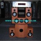 "Rs 45830 Marantz SR301 AV Receiver Marantz LS6000S with 10"" Subwoofer 5.1 Home Theatre Systems"