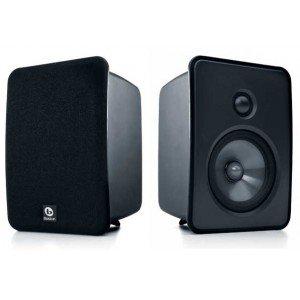 "Rs 13600 Boston Acoustics HS50 100 RMS@8 Ohm RBBD 1"" Tweeter 5.25"" DCD Woofer Bookshelf Speakers"