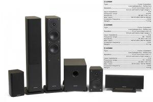 "Rs 45000 Marantz LS7000 with 10"" Subwoofer 5.1 Speaker Package"