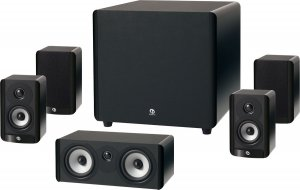 """Rs 40500 Boston Acoustics A 2310HTS Home Theater Speaker Package with 10"""" Subwoofer"""