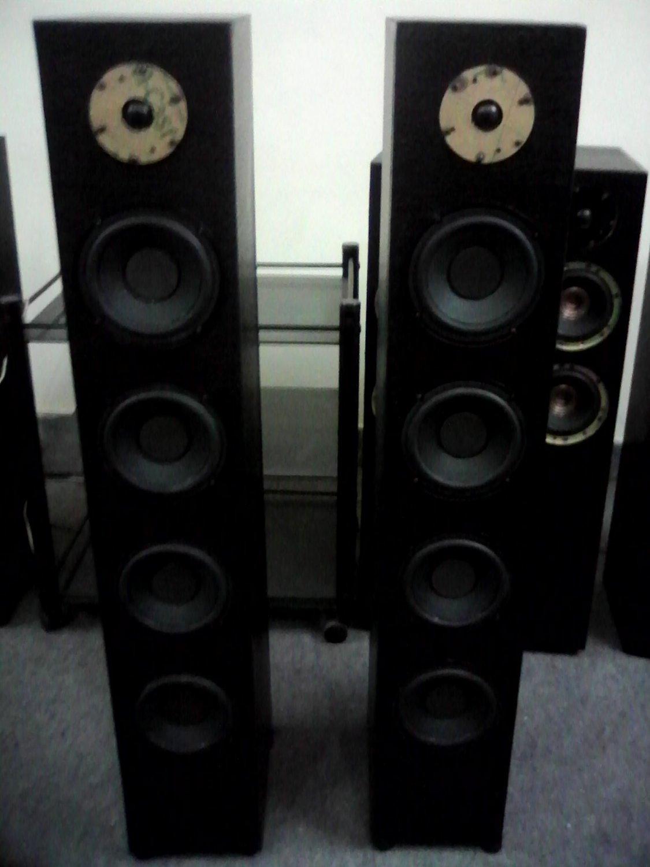 """Rs 20000 1"""" Tweeter 6"""" Woofer x 4 300 Watts RMS Tower Speaker"""