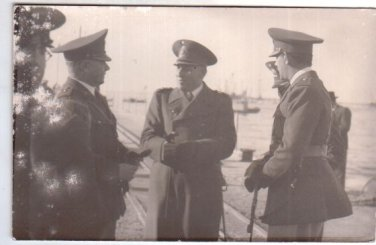Argentina Army German Style General  1950 Photo ORIG