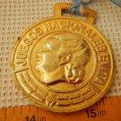 Evita Eva Peron 2004 Misiones National Games Award Gilded Medal W Ribbon