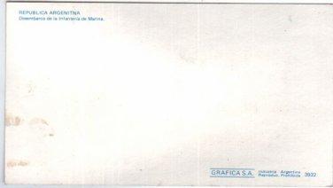 Argentina Navy Marines Amphibious Ship Photo Postcard