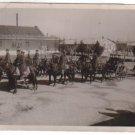 Argentina Army WW2 Cavalry Horseback Charriot Photo WOW