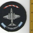 Argentina Air Force Canberra Airplane Aircraft Patch