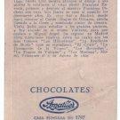 Velazquez Painting 1930 Chocolate Ad Trading Card  ORIG