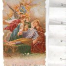 VINTAGE St Jose Joseph Death Jesus Christ Holy Card