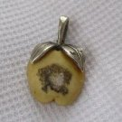 Tiny Apple Fruit Figure Pin Pendant
