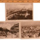 VINTAGE Argentina Buenos Aires City Postcard LOT OF 3