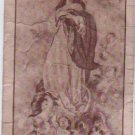 VINTAGE Virgin Mary & Angels Holy Card ORIGINAL