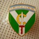Argentina Army  Commando Enameled Beret Badge