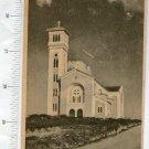 Vintage Argentiina Cordoba La Falda City Church Postcard