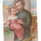 VINTAGE St Cayetan Cayetano Argentina Holy Card