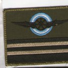 Argentina Air Force Engineer Rank Subdued Patch
