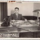 Argentina Army Major State Coronel WWII REAL Photo