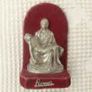 Virgin Mary Jesus Christ Holy Image Figure Made n Italy