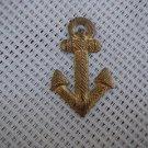 Argentina Navy Anchor Epaulette Emblem Badge OLD