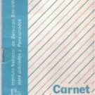 Argentina 1988 Retirement Card Document w PHOTO
