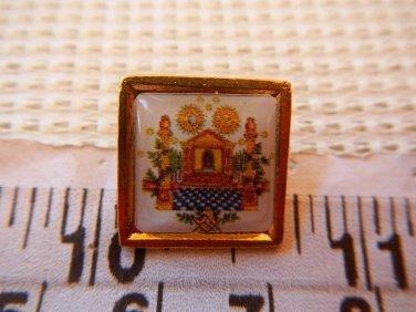 Masonic Freemasonry Mason Shrine Symbol Shield Emblem Pin
