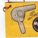 Argentina Uber Brand Hairdryer Original Warranty Document VERY OLD