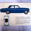 VINTAGE General Motors Chevrolet 1960 Brochure Booklet