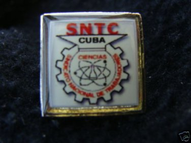 National Workers Trade Union of C uba Lapel Pin Pins