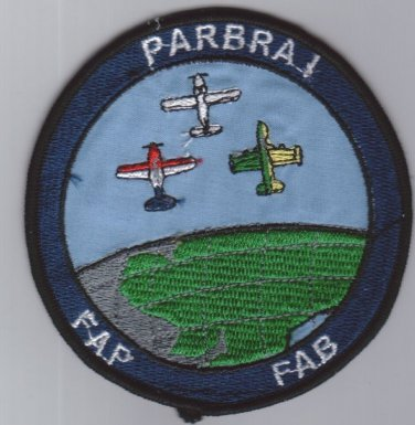 Brazil Paraguay Air Force Parbra I Operation Team Patch
