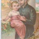 VINTAGE St Cayetan Cayetano Argentina Holy Card  #3