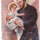 VINTAGE St Cayetan Cayetano Argentina Holy Card  #4