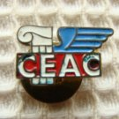 CEAC Private Aviation Pilot Badge Wings Pin Pins RARE