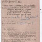ID Argentina Vaccination Certificate Card DOCUMENT