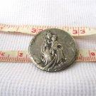 Virgin Mary Carmine Pompei Holy Plate Plaque Badge