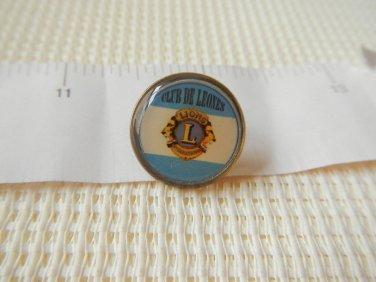 Argentina Lions Club Association Lapel Pin VERY NICE #2