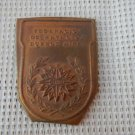 Vintage Argentina Buenos  Aires Swimming Association  Bronze Badge Plate