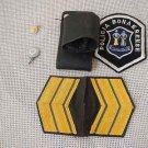 Argentina Police Narcotraffic  Frog Rank  Shoulder Patch Button 6 Items Bundle