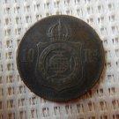 BRAZIL COIN 10 REAIS 1869
