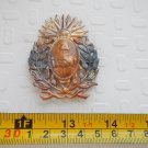 Argentina Army or Police  Hat Badge Shield ANTIQUE #6
