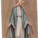 VINTAGE Virgin Mary Comunion 1965 Argentina Holy Card