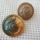 Argentina Navy IMARA Marines Infantry Uniform  Button LOT OF 2 Buttons #2